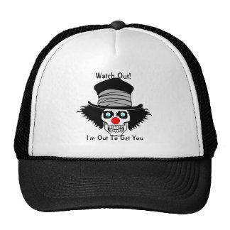 Del payaso gorra alrededor -