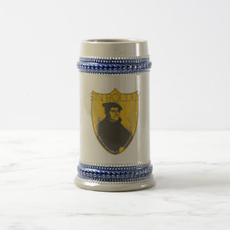 Del pecado cerveza Stein de Martin Luther audazmen Tazas De Café
