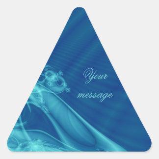 """Del """"pegatinas del triángulo ángel de guarda"""" del calcomania trianguloada"""