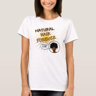 Del pelo camiseta natural para siempre