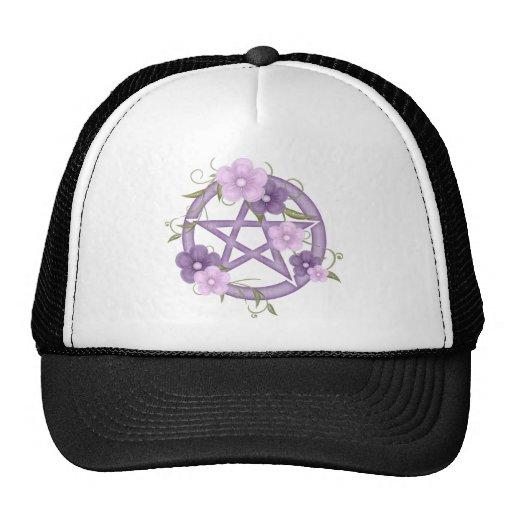 ♥ del Pentagram del ♥ (mystical-1) Gorros Bordados
