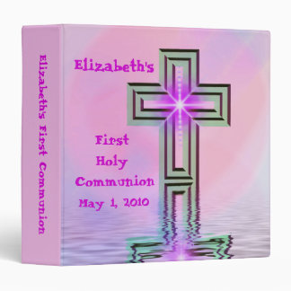 Del personalizado carpeta de la comunión santa