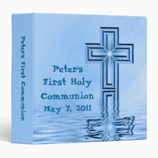 Del personalizado carpeta de la comunión santa pri