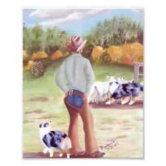 """Del """"pintura australiana día del entrenamiento"""" cojinete"""