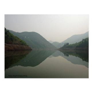 Del poco Three Gorges del río de Daning Postales