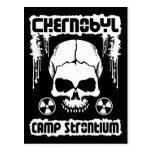 """Del """"postal del cráneo estroncio del campo"""" de Che"""