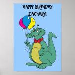 """Del """"poster del cocodrilo feliz cumpleaños"""""""