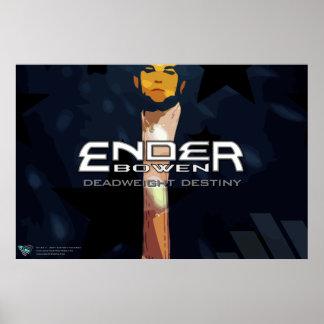 "Del ""poster del EP destino del lastre"" de Ender Póster"
