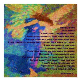© del poster del superviviente de la canción del perfect poster