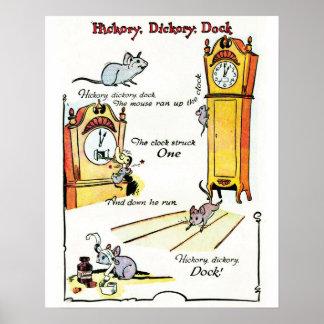 """Del """"poster muelle de Dickory de la nuez dura"""" de Póster"""