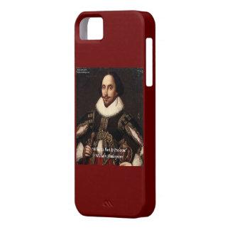 Del prólogo de Shakespeare caso del iPhone 5 del iPhone 5 Carcasas