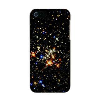 ~ del racimo del Quintuplet (espacio exterior) Carcasa De Iphone 5 Incipio Feather Shine
