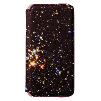 ~ del racimo del Quintuplet (espacio exterior) Funda Billetera Para iPhone 6 Watson