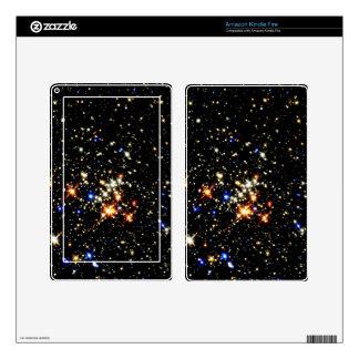 ~ del racimo del Quintuplet (espacio exterior) Kindle Fire Pegatinas Skins