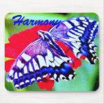 """♠ del ratón mariposa Swallowtail"""" ¦1Tiger Pad1¦ """"d Alfombrilla De Raton"""