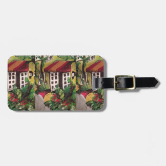 Del Ray Beach, Florida Hotel Painting Luggage Tag