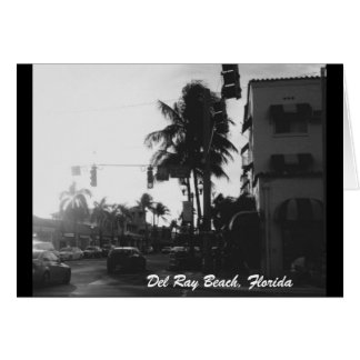 Del Ray Beach, Florida Photo Card