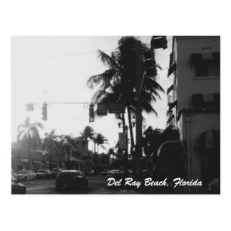 Del Ray Beach, Florida Photo Postcard