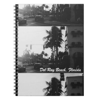 Del Ray Beach, Florida Street Scene Notebook