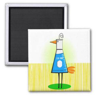 """Del """"regalos pájaro de Beeker"""" del químico Imán Cuadrado"""