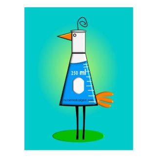"""Del """"regalos pájaro de Beeker"""" del químico Postal"""