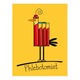 """Del """"regalos pájaro del tubo de la sangre"""" de Phle Postales"""