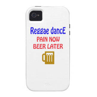 Del reggae de la danza del dolor cerveza ahora más iPhone 4 funda