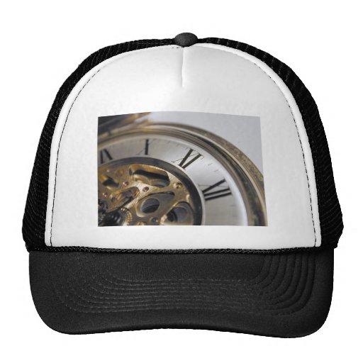 del reloj cierre para arriba gorros bordados