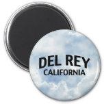 Del Rey California Imán