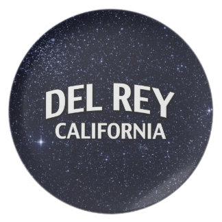 Del Rey California Plato