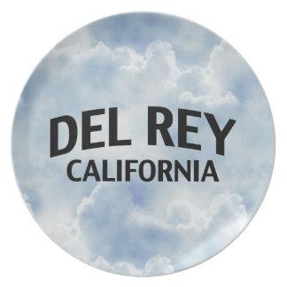 Del Rey California Platos