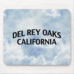 Del Rey Oaks California Alfombrillas De Ratón