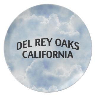 Del Rey Oaks California Plato De Cena