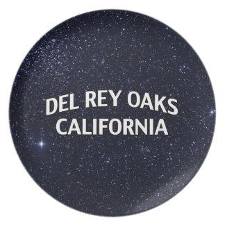 Del Rey Oaks California Plato