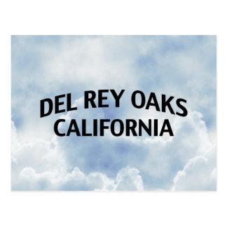Del Rey Oaks California Tarjetas Postales