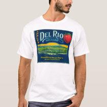 Del Rio Apple Crate LabelMedford, OR T-Shirt