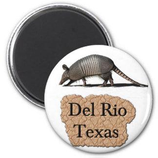 del rio texas armadillo magnet souvenirs