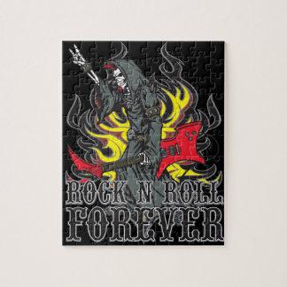 Del rock-and-roll rompecabezas para siempre