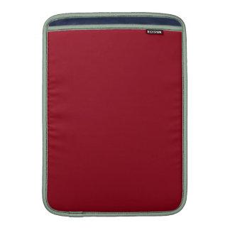 ~~ del ROJO CEREZA (un color con sabor a fruta Funda MacBook