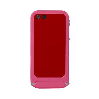 ~ del ROJO de APPLE (un color con sabor a fruta Funda Para iPhone 5 Incipio ATLAS ID