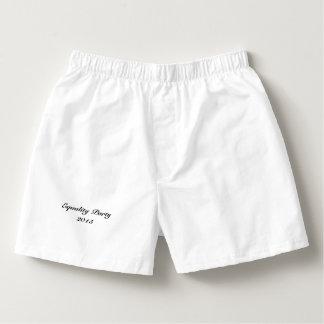 """Del """"ropa interior golpe gay grande del cumpleaños calzoncillos"""
