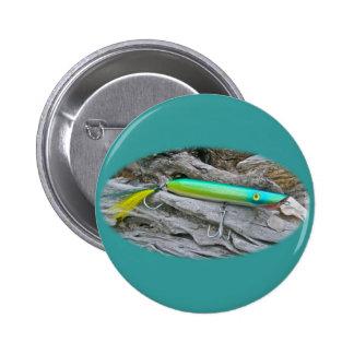 """Del """"señuelo de la pesca del agua salada dragón de pin redondo 5 cm"""