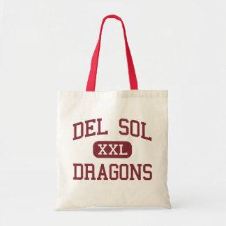 Del Sol - Dragones - High School secundaria - Las  Bolsas De Mano