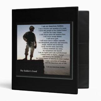 """Del soldado del credo del texto la parte posterior carpeta 1"""""""