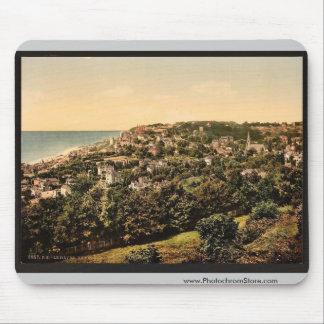 Del Ste. Adresse, vintage Photochro de Havre, Fran Alfombrillas De Raton