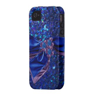 Del tacto caso Jeweled y falso de IPod del diamant Vibe iPhone 4 Carcasas
