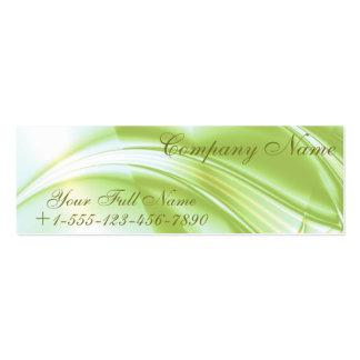 """Del """"tarjeta de visita alcohol de la primavera"""" tarjetas de visita mini"""
