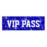 """Del """"tarjeta de visita azul marino PASO del VIP"""" d"""