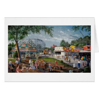 """Del """"tarjeta parque de atracciones del eco de la c tarjeta pequeña"""