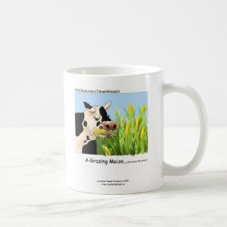 """Del """"taza de café hilarante maíz de A-Grazin"""" de Taza De Café"""